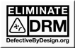 Say NO to DRM!