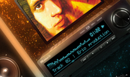 Music producer website design [2009]