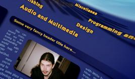 waldson.com site prototype [2006]